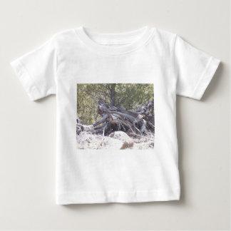 Jumble of Aging Wood Baby T-Shirt