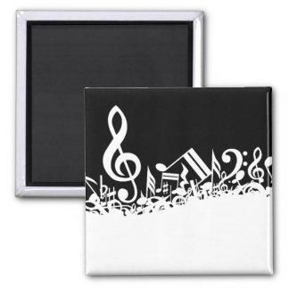 Jumble of Musical Symbols Refrigerator Magnets