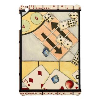 Jumbled Assortment of Games of Chance iPad Mini Covers