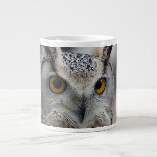 Jumbo 20 oz Coffee Mug Siberian Eagle Owl Extra Large Mug