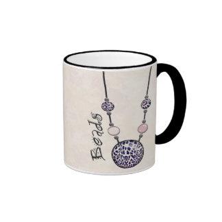 Jumbo Bead Necklace Multicolor   12 Coffee Mug