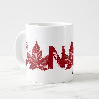 Jumbo Canada Coffee Cup Mug Cool Retro Canada Cup Jumbo Mug