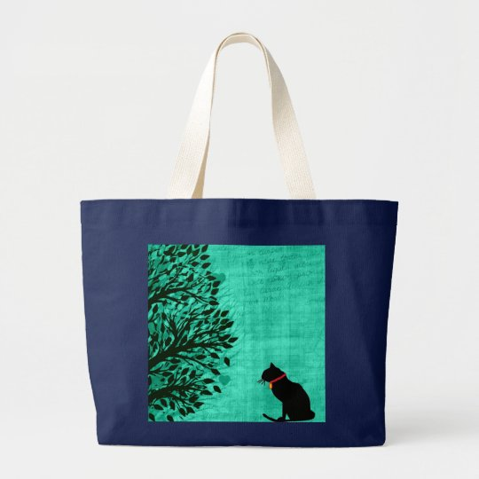 Jumbo Cat Graphic Tote