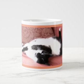 Jumbo Cat Nap Photo Mug