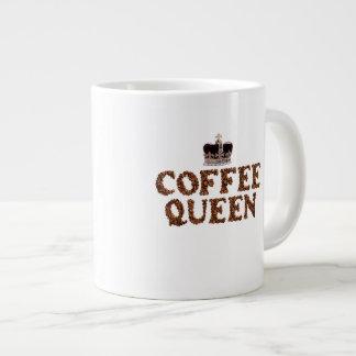"""JUMBO COFEE MUG - """"Coffee Queen"""" with crown 20 Oz. Jumbo Mug"""
