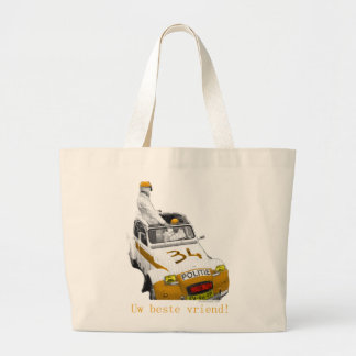 Jumbo draagtas your bosom friend jumbo tote bag