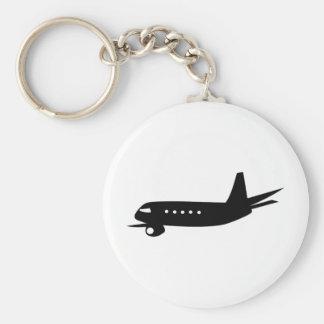 Jumbo Jet Key Ring
