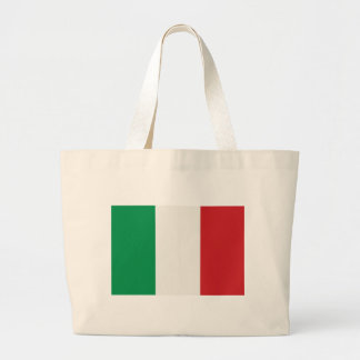 Jumbo jet shopping bag Italy flag