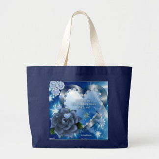 Jumbo jet shopping bag! large tote bag