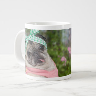 Jumbo or Espresso size Be-YOU-tiful Pug Mug