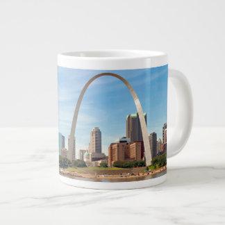 Jumbo St. Louis Arch and Skyline Mug