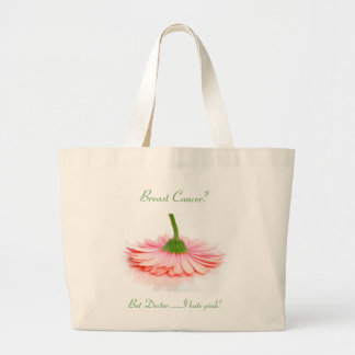 Jumbo Tote Bag for Breast Cancer Survivors