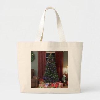 Jumbo Tote-Christmas Tree Jumbo Tote Bag
