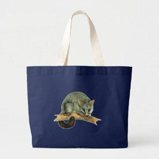 Jumbo Tote - Cooroy - Navy Tote Bag