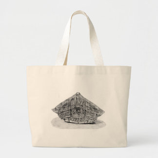 Jumbo tote Map turtle