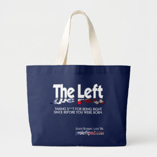 Jumbo Tote - The Left, Defined...