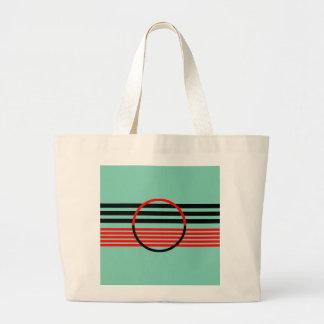 Jumbo Tote with Art Deco Style Design Jumbo Tote Bag