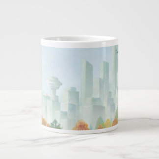Jumbo Vancouver Coffee Mug Stanley Park Art Cup Jumbo Mug