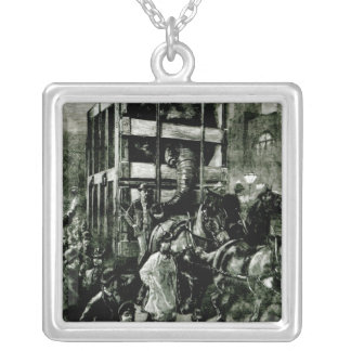 Jumbo's Journey to the Docks Silver Plated Necklace