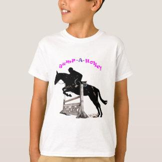 Jump-A-Holic Horse Jumper T Shirts