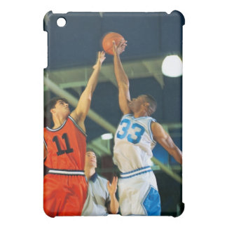 Jump ball in basketball game case for the iPad mini