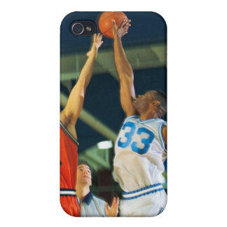 Jump ball in basketball game iPhone 4 case