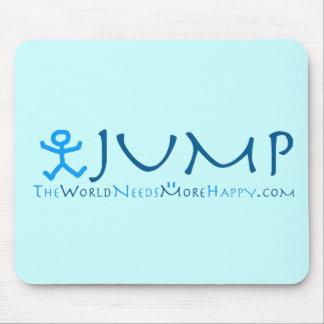 Jump-blue/blue Mouse Pad