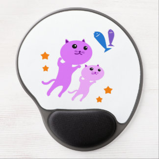 Jump Cat Gel Mouse Pad