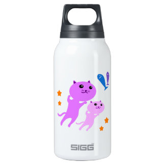 Jump Cat Insulated Water Bottle