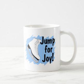 Jump For Joy Blue Skate Coffee Mug
