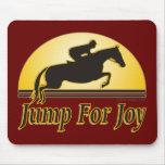 Jump For Joy Equestrian Mousepad