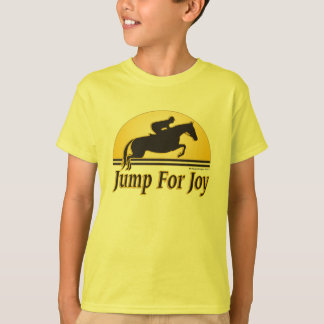 Jump for Joy Kids Equestrian T-Shirt