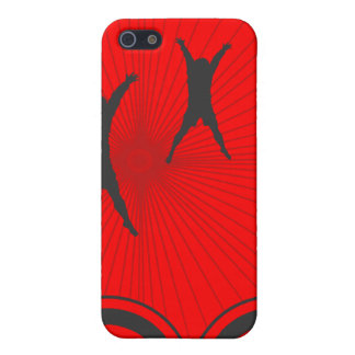 Jump for Joy Silhouette Vector Design Cover For iPhone 5/5S