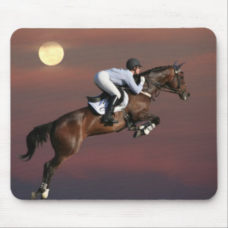 Jump for the Moon Mouse Pad