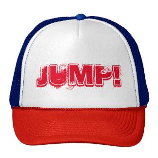 """JUMP!"" Hard rock trucker cap"