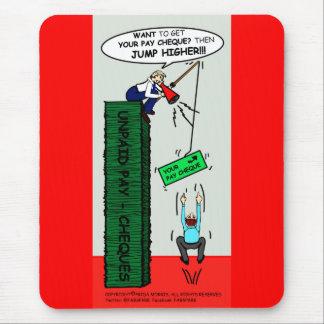 JUMP HIGHER brilliant sarcastic cartoon Mouse Mat