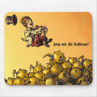 Jump In! Mouse Pad
