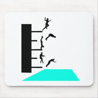 jump into pool mousepad