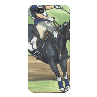 Jump into Water, Eventing Equestrian iPhone 5 Cases