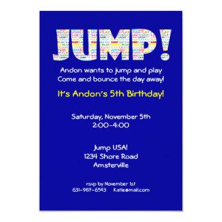 Jump Invitation