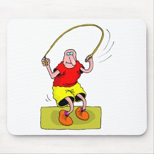 Jump roap mousepad