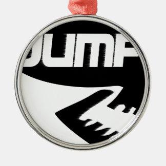 JUMP ROCK STYKE CHRISTMAS ORNAMENT