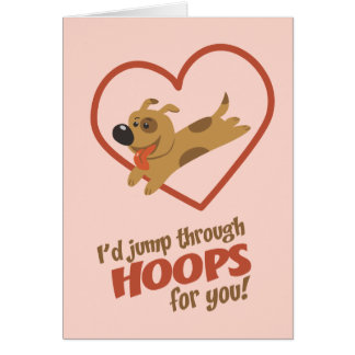Jump Through Hoops Valentine s Day Cards