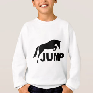 JUMP with Jumping Horse Sweatshirt