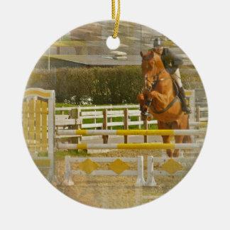 Jumper Horse Show Ornament