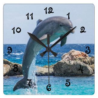 Jumping Dolphin Wallclocks