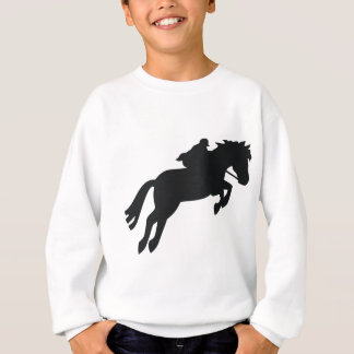 Jumping Draft Horse Sweatshirt