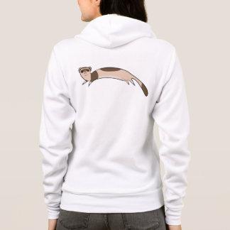 Jumping ferret hoodie