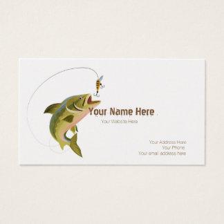 Jumping Fish Custom Business Card