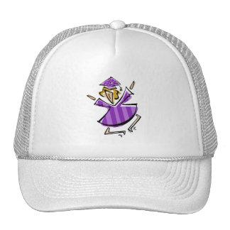 Jumping Grad Girl Trucker Hats